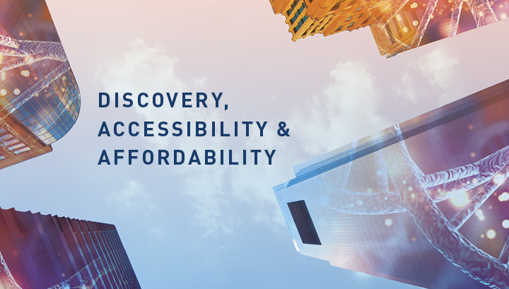 Text of Discovery, Accessibility and Affordability